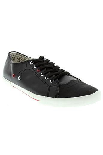 leoss chaussures homme de couleur noir