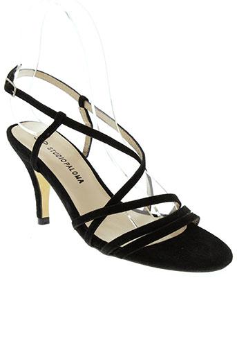 studio paloma chaussures femme de couleur noir