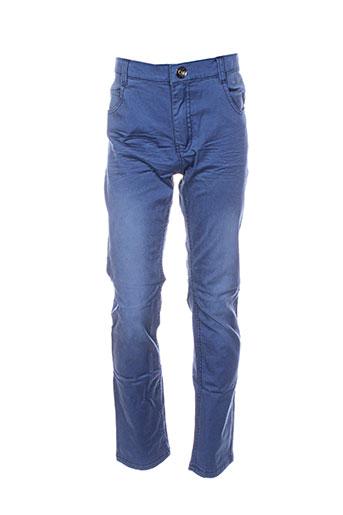 3 pommes pantalons garçon de couleur bleu
