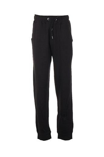chillaround pantalons enfant de couleur noir