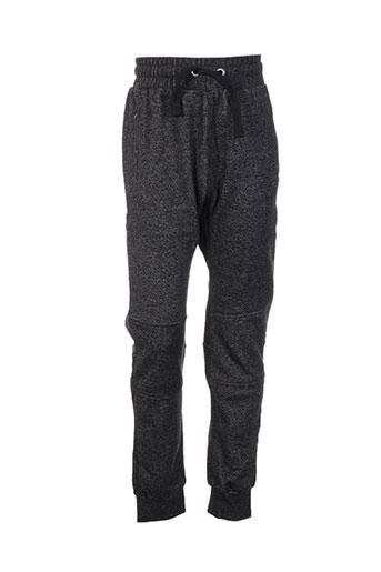 chillaround pantalons garçon de couleur noir