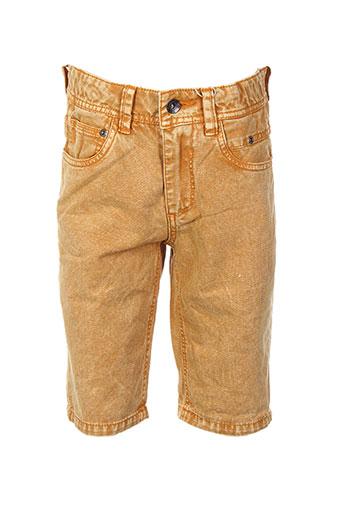 garcia shorts / bermudas garçon de couleur jaune