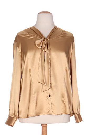 reichart chemises femme de couleur beige