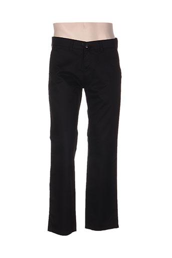 pionier pantalons homme de couleur noir