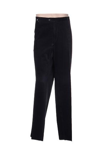 cosserat pantalons homme de couleur noir