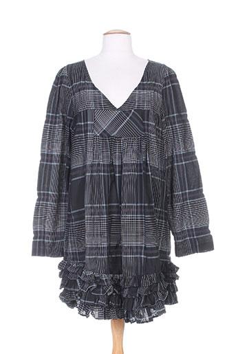 lino factory robes femme de couleur noir