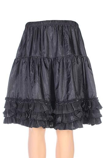 lino factory jupes femme de couleur noir