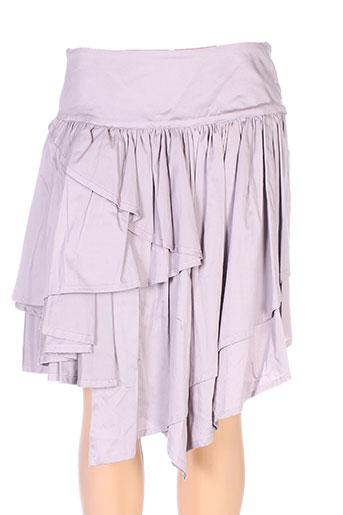 lino factory jupes femme de couleur rose