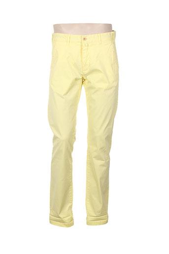 gant pantalons homme de couleur jaune