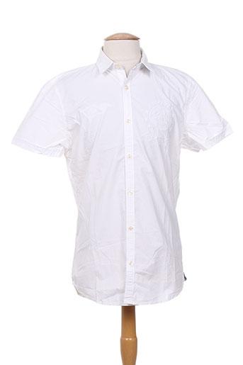 gaastra chemises homme de couleur blanc