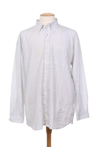 gant chemises homme de couleur gris