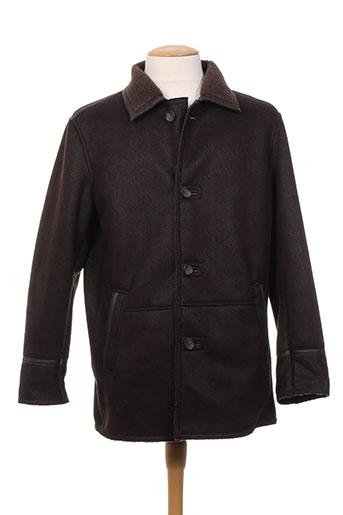 delahaye manteaux homme de couleur marron