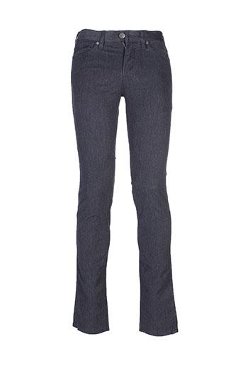 cerruti 1881 pantalons homme de couleur gris