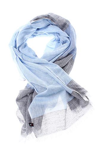 tommy et hilfiger foulards homme de couleur bleu