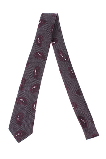 digel cravates homme de couleur violet
