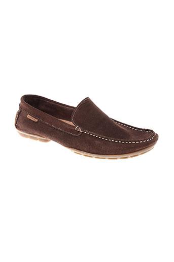florentino chaussures homme de couleur marron