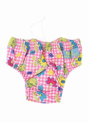 Bas de maillot de bain rose FLOATIES pour fille