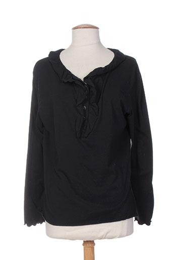 aurea vita t-shirts / tops femme de couleur noir