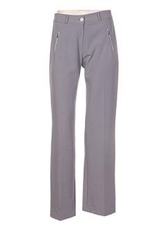 Pantalon chic gris COM ELLE pour femme