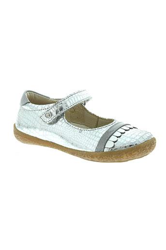 naturino chaussures fille de couleur gris