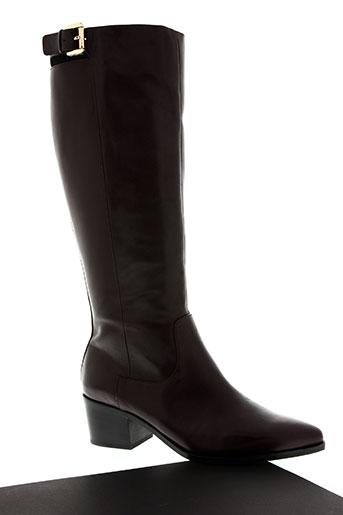 geox chaussures femme de couleur rouge