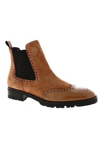 anaki chaussures femme de couleur marron