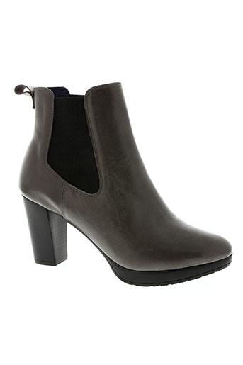 anaki chaussures femme de couleur gris