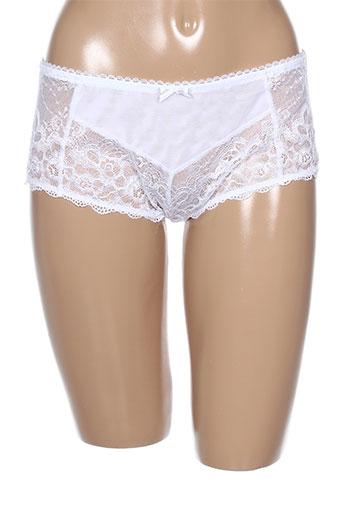 amoena lingerie femme de couleur blanc
