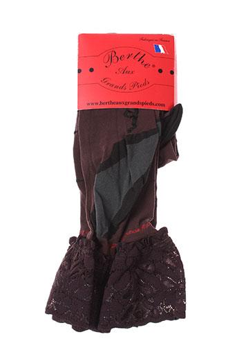 berthe aux grands pieds lingerie femme de couleur violet