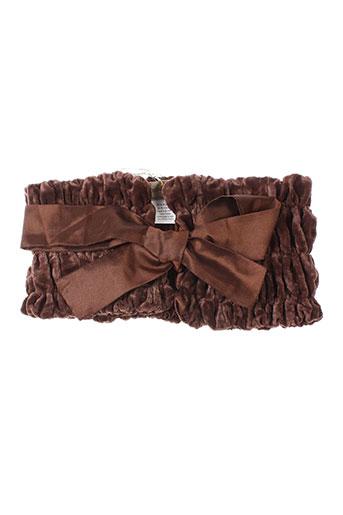 roshanara accessoires femme de couleur marron