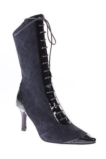 sylvie rost chaussures femme de couleur bleu