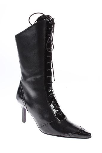 sylvie et rost bottes femme de couleur noir