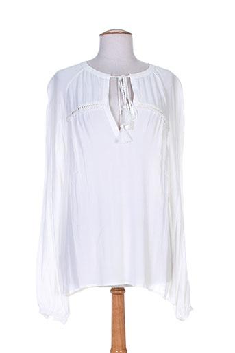 les petites... chemises femme de couleur blanc