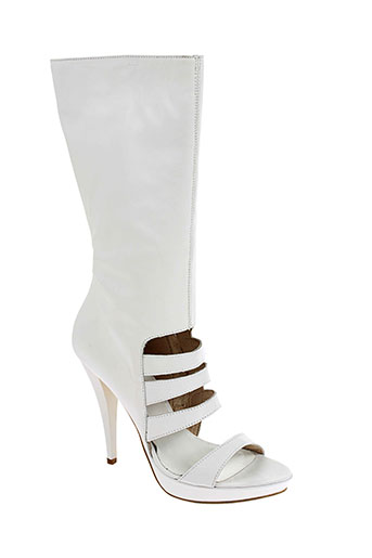 v m chaussures femme de couleur blanc