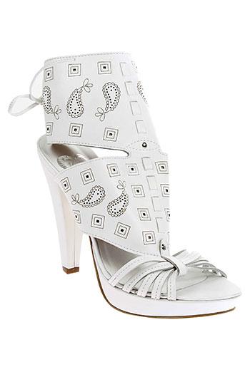 Sandales/Nu pieds blanc V M pour femme