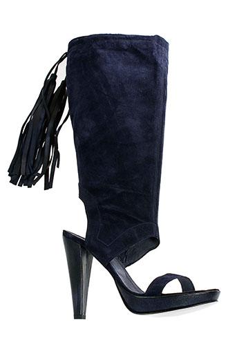 Sandales/Nu pieds bleu V M pour femme