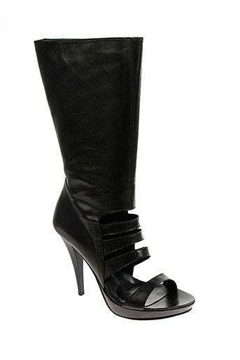 Sandales/Nu pieds noir V M pour femme