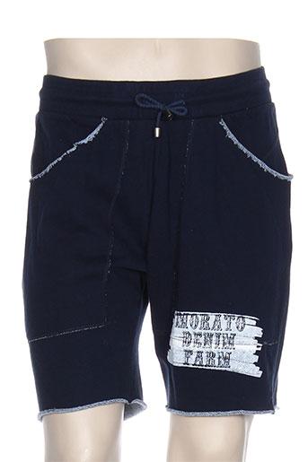 antony morato shorts et bermudas homme de couleur bleu