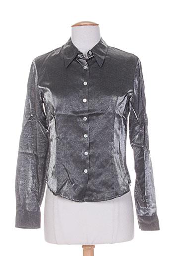 cacharel chemises femme de couleur gris