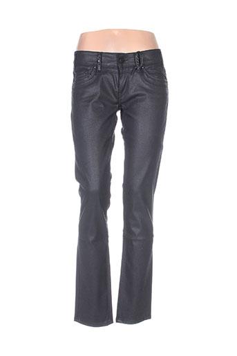 Pantalon casual noir ANDY WARHOL BY PEPE JEANS pour femme