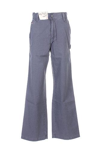 quiksilver pantalons garçon de couleur bleu