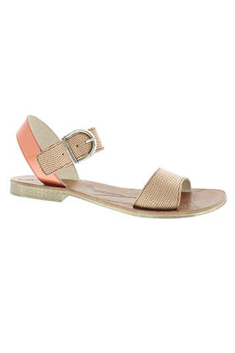 ramdam chaussures femme de couleur orange
