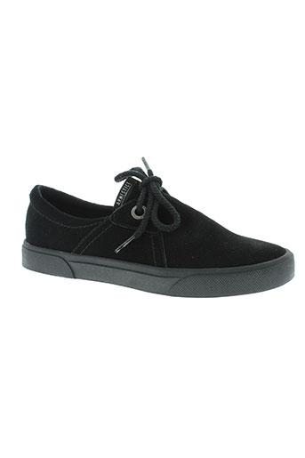 armistice chaussures garçon de couleur noir