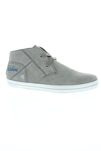 redskins chaussures garçon de couleur gris