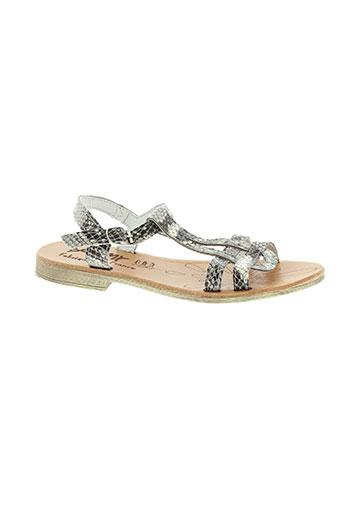 bellamy chaussures femme de couleur beige
