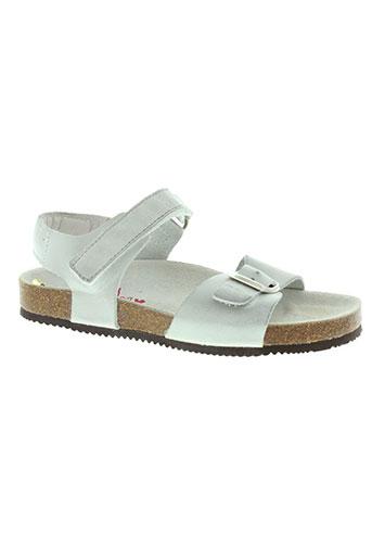 bellamy chaussures enfant de couleur gris