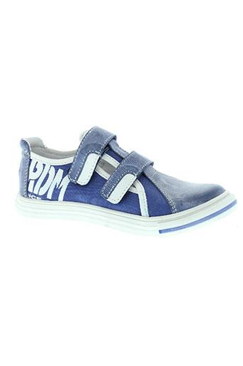 ramdam chaussures garçon de couleur bleu