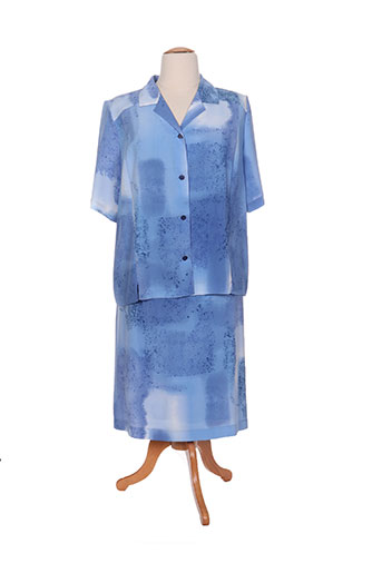 gevana ensemble femme de couleur bleu