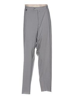 Pantalon chic gris LUC SAINT ALBAN pour homme