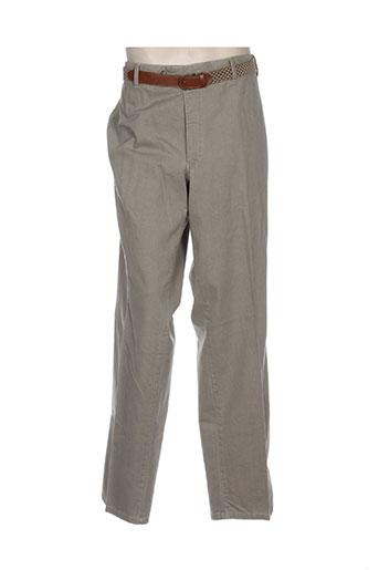 modexal pantalons homme de couleur beige